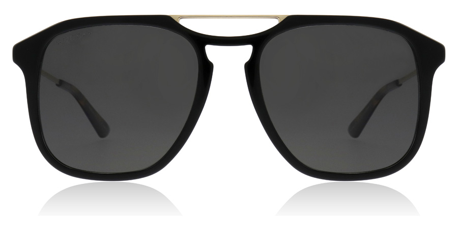 Gucci GG0321S Black / Gold 005 55mm Polarisoivat