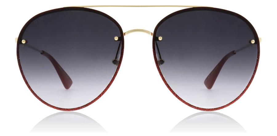 Gucci GG0351S Gold / Grey 001 62mm
