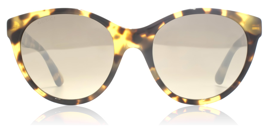 Gucci GG0419S Spotted Havana 004 54mm