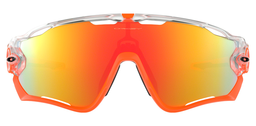 Oakley Jawbreaker OO9290 Matte Clear / Fire Iridium 37 31mm