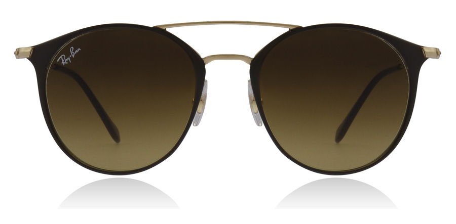 Ray-Ban RB3546 Kulta-ruskea 900985 49mm