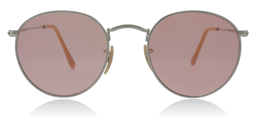 Ray-Ban Round Washed Evolve Metal RB3447 Hopea 9065V7 50mm
