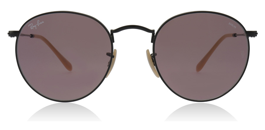 Ray-Ban RB3447 Round Metal Musta 9066Z0 50mm