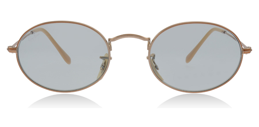 Ray-Ban Oval RB3547N Copper / Green 91310Y 51mm