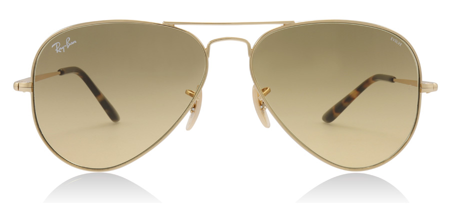 Ray-Ban RB3689 Gold 9150AC 58mm