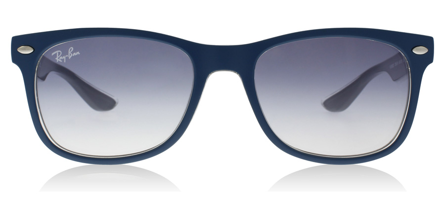 Ray-Ban Junior RJ9052S Age 8-12 Years Matta turkoosi-harmaa 703419 48mm