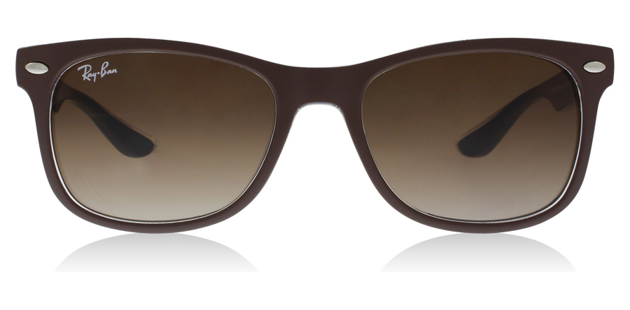Ray-Ban Junior RJ9052S Age 12-15 Years Matta ruskea-sininen 703513 48mm