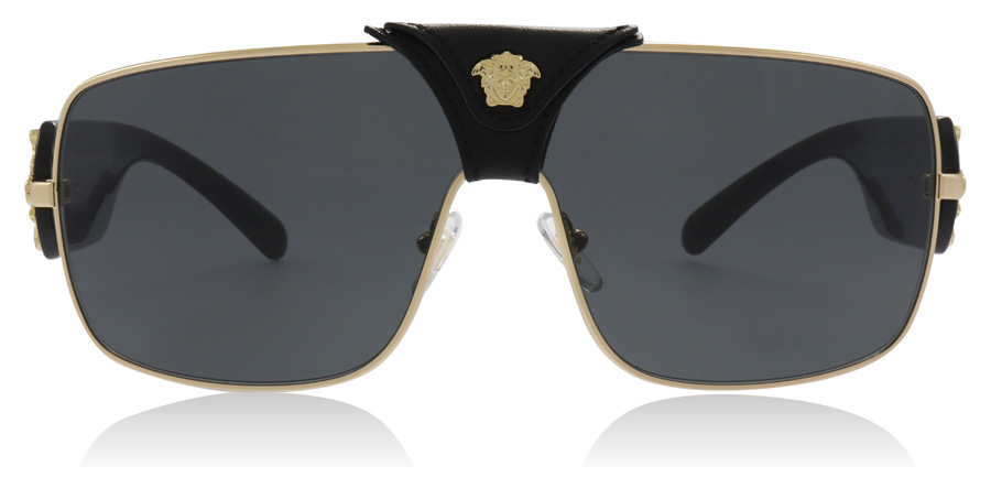 Versace Squared Baroque VE2207Q Gold 100287 38mm