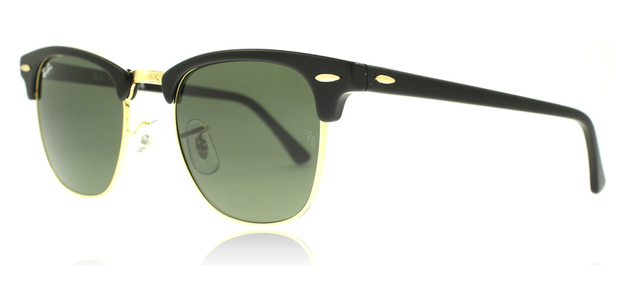 ray-ban-3016-clubmaster-aurinkolasit-musta-w0365-small-49mm