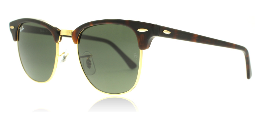 ray-ban-3016-clubmaster-aurinkolasit-kilpikonna-w0366-large-51mm