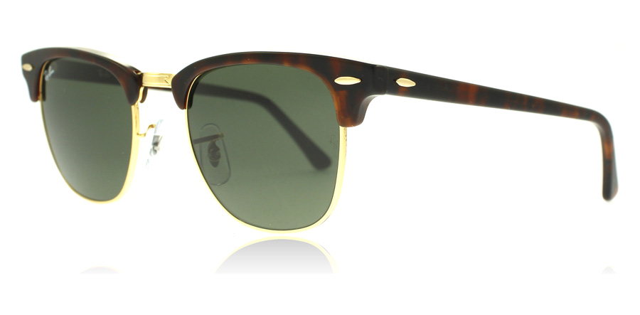 ray-ban-3016-clubmaster-aurinkolasit-kilpikonna-w0366-small-49mm