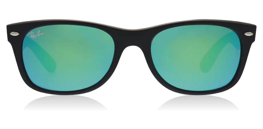 Ray-Ban RB2132 New Wayfarer Matta musta 62219 52mm