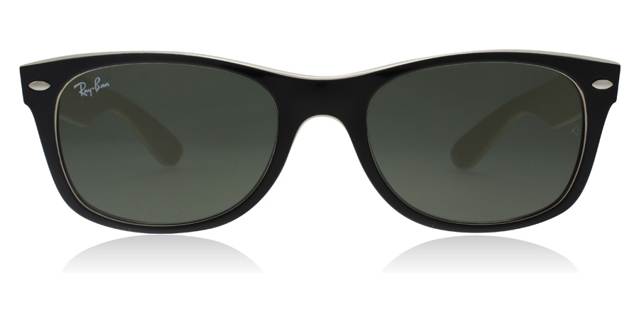 Ray-Ban RB2132 New Wayfarer Musta 875 55mm