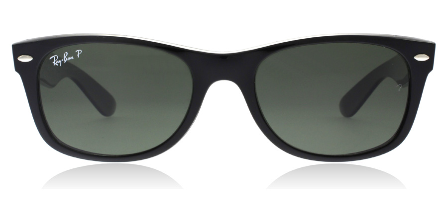 Ray-Ban New Wayfarer RB2132 Musta 901/58 52mm Polarisoivat