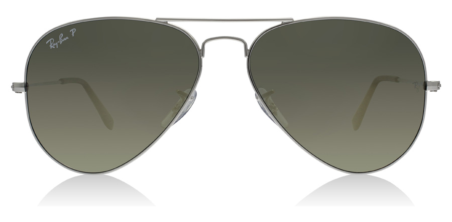 Ray-Ban Aviator RB3025 Hopea 003/59 58mm Polarisoivat