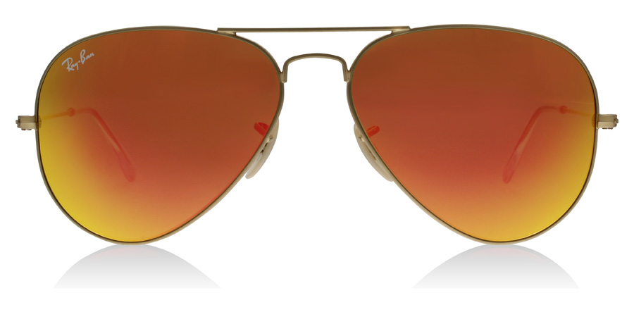 Ray-Ban Aviator RB3025 Matta kulta 11269 62mm