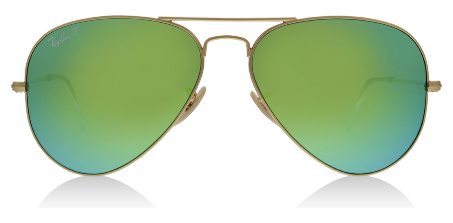 Ray-Ban RB3025 Kulta 112/P9 58mm Polarisoivat