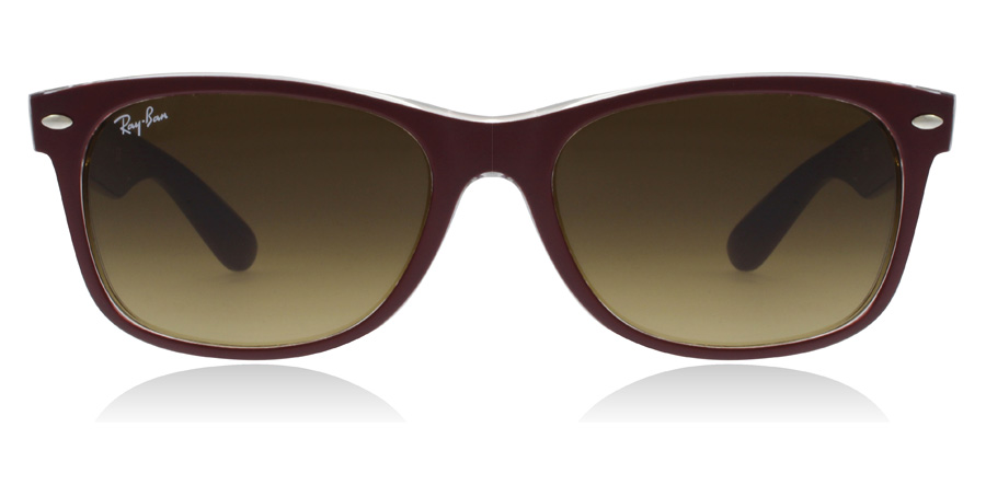 Ray-Ban RB2132 New Wayfarer Kastanja 605485 52mm
