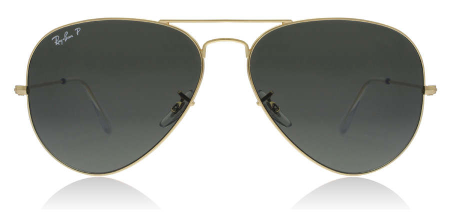 Ray-Ban Aviator RB3025 Kulta 001/58 58mm Polarisoivat