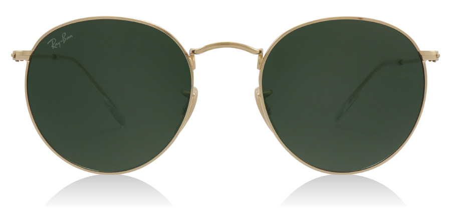 Ray-Ban Round Metal RB3447 Kulta 001 50mm
