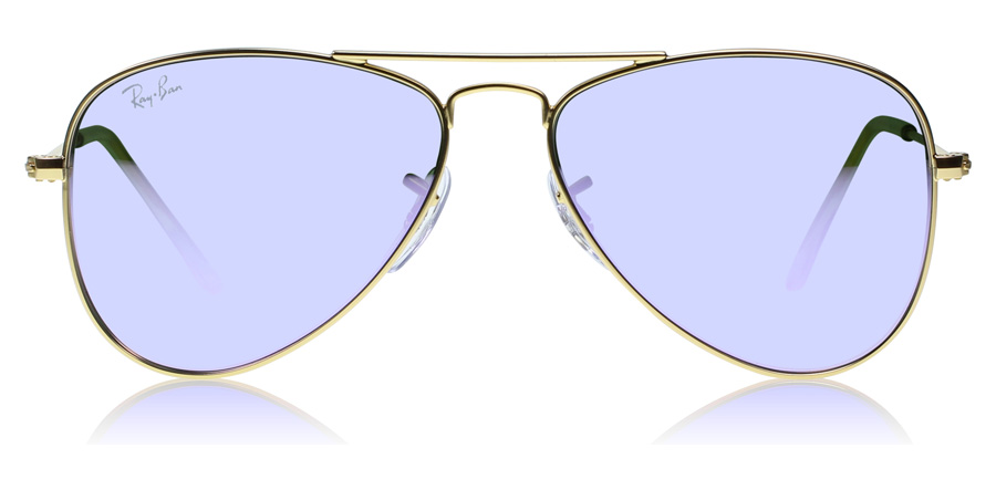 Ray-Ban Junior RJ9506S Age 4-8 Years Matta kulta 249-4V 50mm