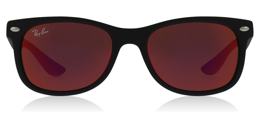 Ray-Ban Junior RJ9052S Age 8-12 Years Musta 100S6Q 47mm