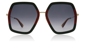 Gucci GG0106S Green / Red / Gold