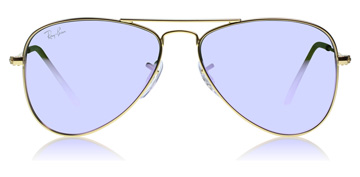 Ray-Ban Junior RJ9506S Age 4-8 Years Matta kulta