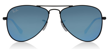 Ray-Ban Junior RJ9506S Age 4-8 Years Musta