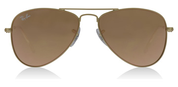 Ray-Ban Junior RJ9506S Age 4-8 Years Kulta