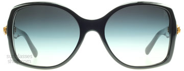 Dolce and Gabbana 4168 Musta 501-8G